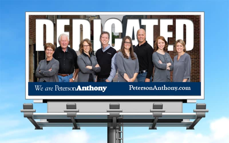 peterson anthony billboard