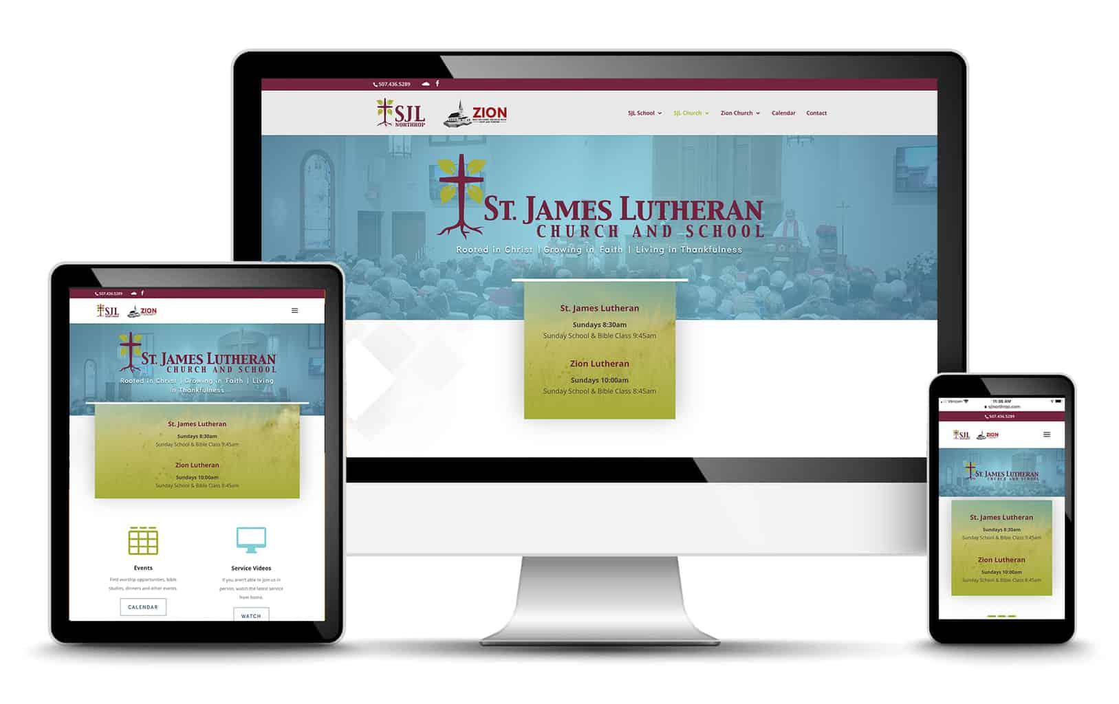 st. james lutheran website