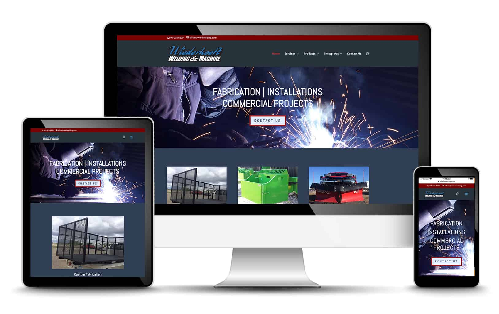 wiederhoeft welding website