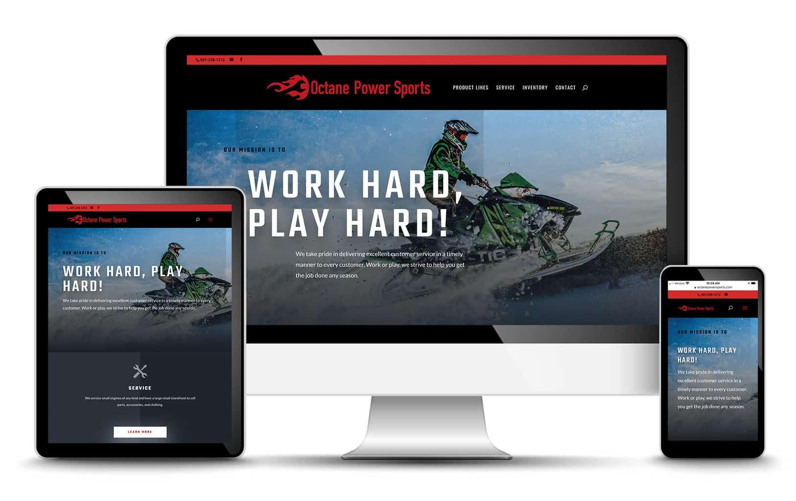 octane power sport website